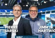 Pierre Littbarski und Jimmy Hartwig sind die Welt-Experten für die Fußball-Europameisterschaft.