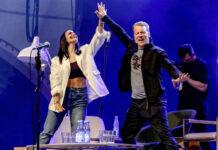 Die Pochers auf der Bühne in Hannover
