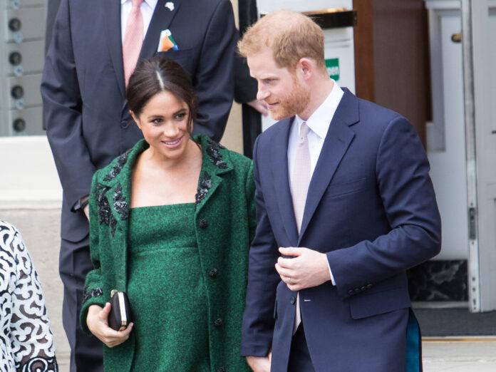 Prinz Harry und Herzogin Meghan im Jahr 2019