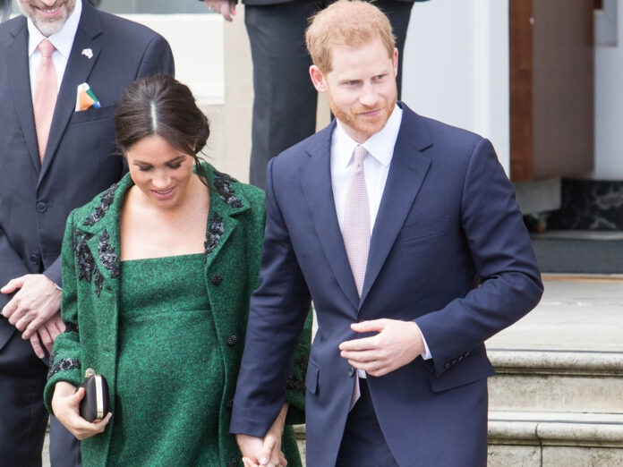 Prinz Harry und Herzogin Meghan vor rund zwei Jahren