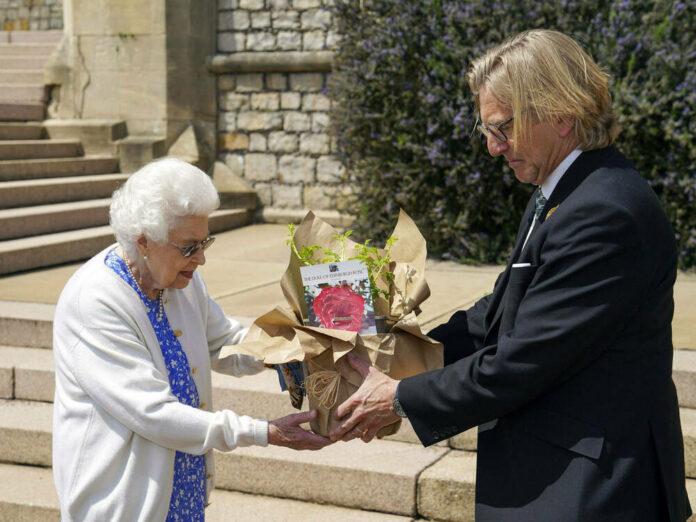 Queen Elizabeth II. bekam die