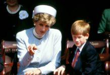 Der kleine Prinz Harry an der Seite seiner Mutter Diana im Jahr 1995.