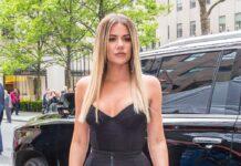 Khloe Kardashian 2017 in New York City.