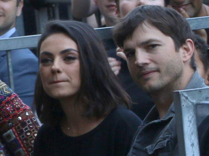 Mila Kunis und Ashton Kutcher bei einem Auftritt in Los Angeles.