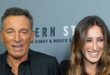 Bruce Springsteen mit seiner Tochter Jessica.