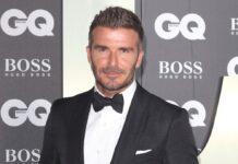 Dieser Look ist passé: David Beckham trägt die Haare nun platinblond.