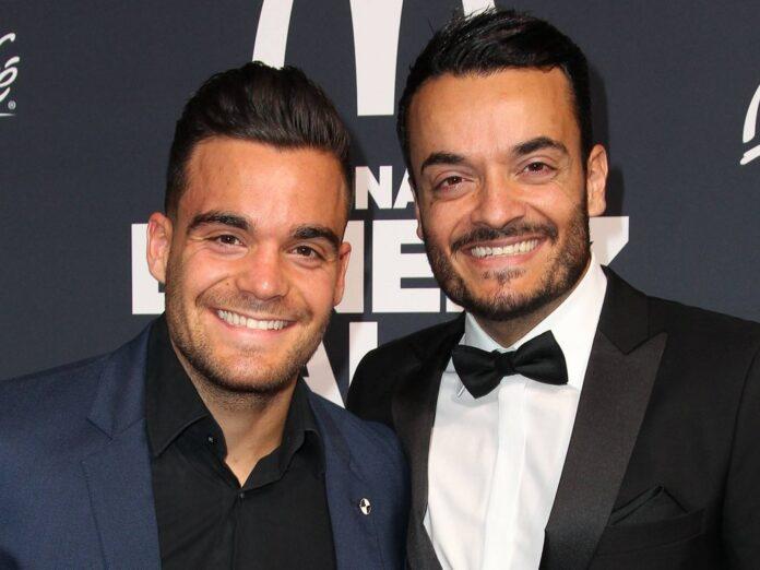 Stefano Zarrella (l.) mit seinem großen Bruder Giovanni Zarrella bei einer Veranstaltung 2018.