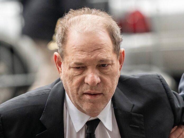 Harvey Weinstein während seines Prozesses Anfang 2020 in New York.