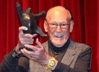 Herbert Köfer im Februar 2021 bei einer Preisverleihung in Berlin