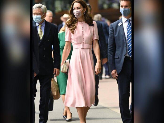 Herzogin Kate in Wimbledon.