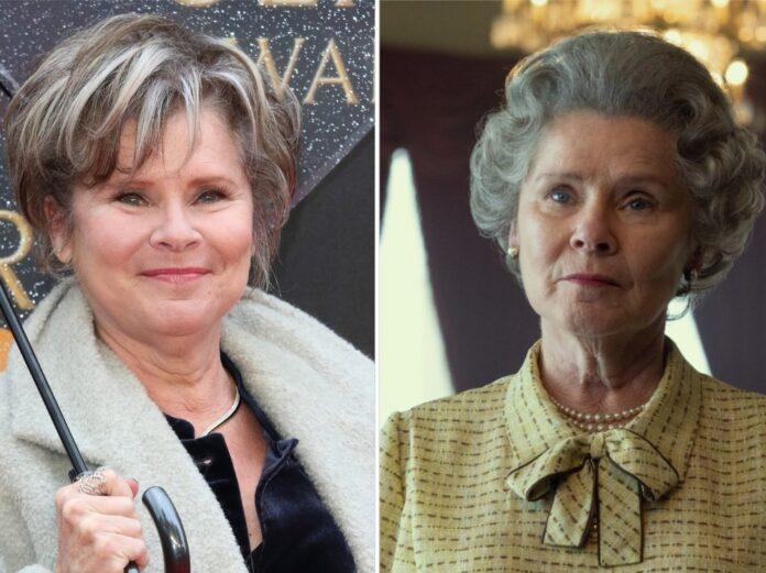 Imelda Staunton spielt Queen Elizabeth II. in der fünften und sechsten Staffel von