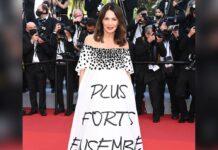 Iris Berben beim Filmfestival in Cannes.