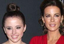 Kate Beckinsale (re.) mit ihrer Tochter Lily Mo Sheen bei einer Veranstaltung 2013.