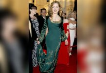 Zu den Oscars 1998 trug Kate Winslet dieses bezaubernde Kleid.