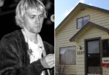 In diesem Haus verbrachte Kurt Cobain seine Kindheit.