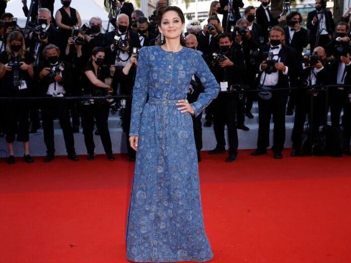 Marion Cotillard bei ihrem Auftritt in Cannes.