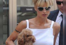 Hunde spielen im Leben von Michelle Hunziker eine große Bedeutung.