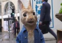Peter Hase meldet sich für sein zweites Kinoabenteuer zurück.