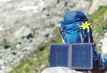 Fernab von der Steckdosen-Zivilisation sind tragbare Solarpanels praktisch.