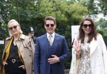 Tom Cruise besucht Wimbledon.