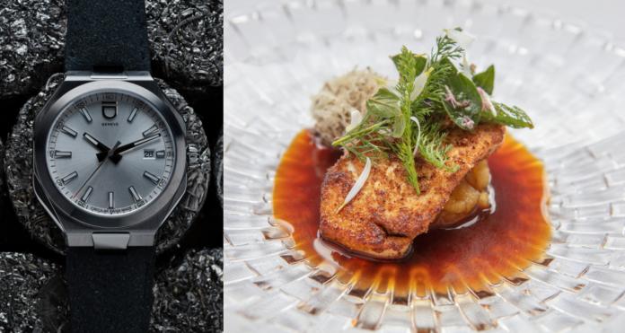 Wenn Michelin-Sterneküche auf Uhrmacherei trifft