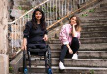 Hülya Marquardt (li.) und Vanessa Mai in Stuttgart