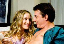 """Carrie (Sarah Jessica Parker) und Mr. Big (Chris Noth) landeten auch in """"Sex and the City"""" öfter zusammen im Bett."""