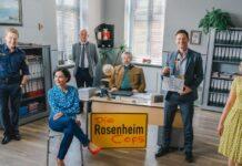 """Die 21. Staffel der TV-Serie """"Die Rosenheim-Cops"""" startet Ende September."""