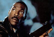 """Eddie Murphy in """"Beverly Hills Cop III"""" (1994)."""