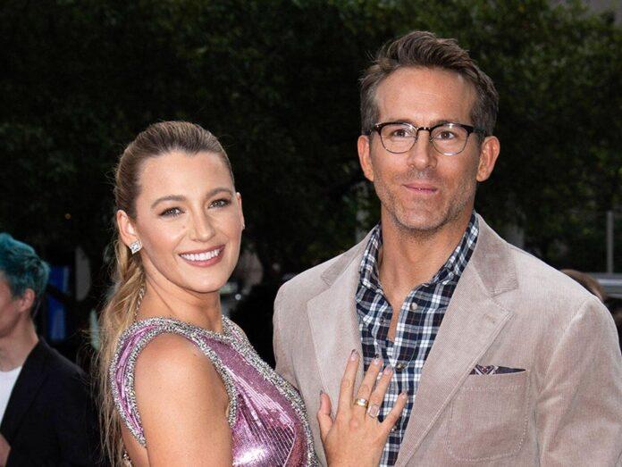 Ryan Reynolds und seine Ehefrau Blake Lively auf der Weltpremiere von