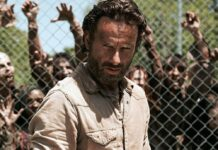 Wurde im Laufe der Serie immer bärtiger und grimmiger: Andrew Lincoln als Rick Grimes.