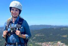 """Judith Rakers wagte sich für """"Wunderschön"""" in spanische Höhen."""