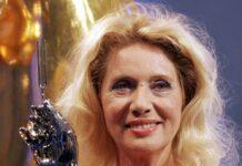 Margot Eskens mit der Goldenen Stimmgabel im Jahr 2005.