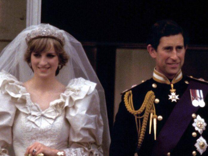 Prinzessin Diana und Prinz Charles bei ihrer Hochzeit im Jahr 1981.