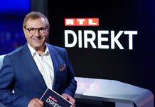 """Jan Hofer moderiert """"RTL Direkt""""."""