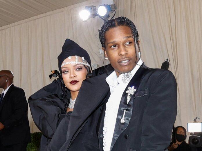 Rihanna und A$AP Rocky bei der Met Gala 2021