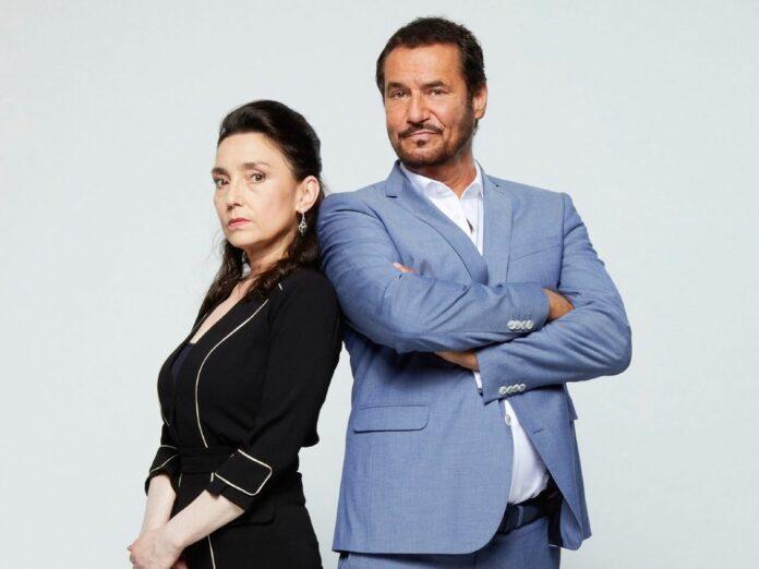 Eingespieltes Team: Silvan-Pierre Leirich mit Kollegin Tatjana Clasing in ihren Rollen als Simone und Richard Steinkamp.