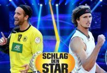 """Silvio Heinevetter und Alexander Zverev treffen bei """"Schlag den Star"""" aufeinander."""