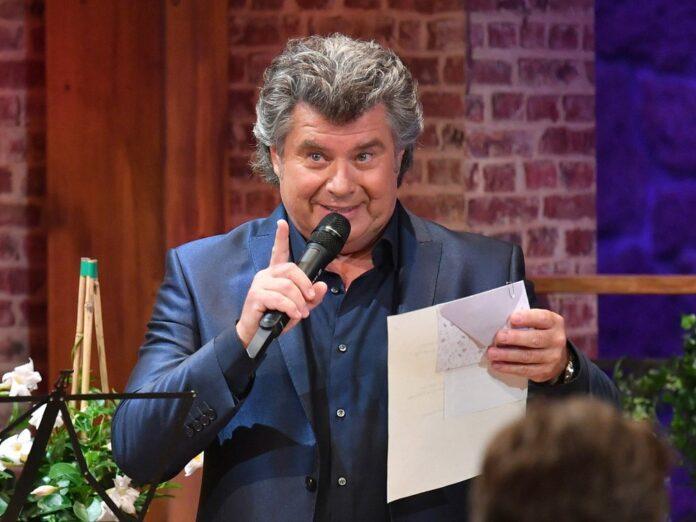 Andy Borg freut sich über die Jubiläumsausgabe seiner Show