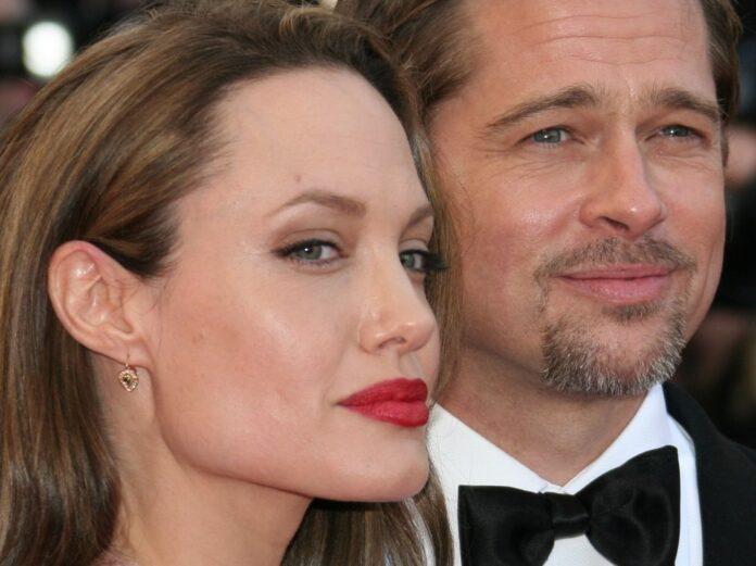 Angelina Jolie und Brad Pitt während glücklicherer Tage in Cannes.
