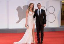Antonio Banderas mit Nicole Kimpel in Venedig.