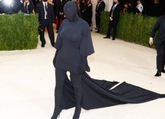 Kim Kardashian bei der Met-Gala 2021