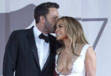 Jennifer Lopez und Ben Affleck bei den Filmfestspielen in Venedig.