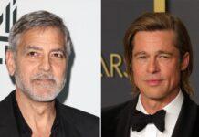George Clooney (l.) und Brad Pitt standen schon mehrmals gemeinsam vor der Kamera.