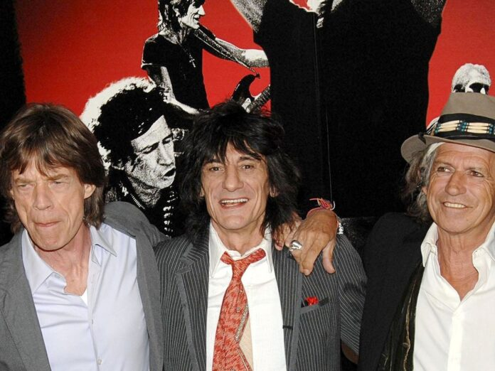 The Rolling Stones bestehen jetzt nur noch aus Mick Jagger (v.l.)
