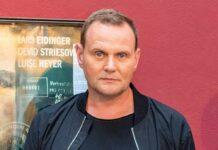 """Devid Striesow bei der Premiere des Kinofilms """"Nahschuss"""" im Juli in Hamburg."""