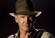 """Harrison Ford 2008 in """"Indiana Jones und das Königreich des Kristallschädels""""."""