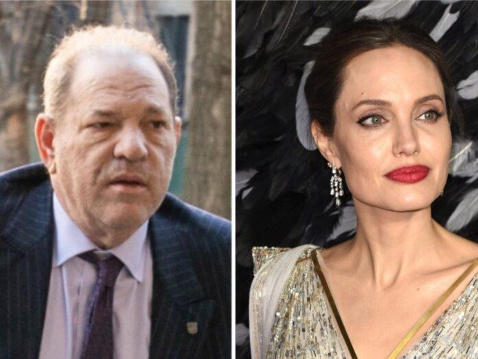 Auch Angelina Jolie soll als junge Frau von Harvey Weinstein attackiert worden sein.