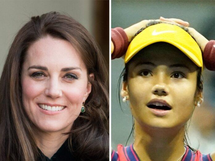 Herzogin Kate gratuliert Emma Raducanu zu ihrer