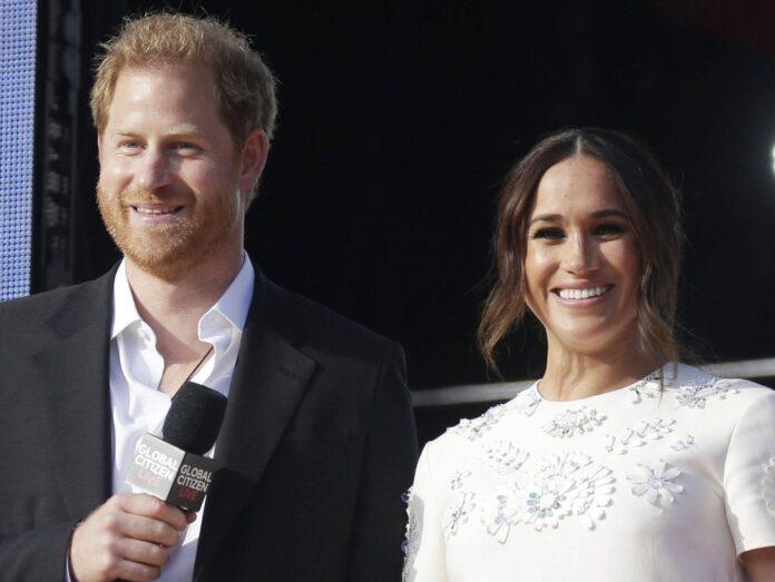 Prinz Harry und Herzogin Meghan beim Global Citizen Live in New York.
